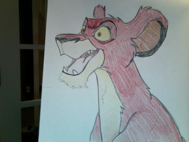 Adult Azula Lioness by FireNationPhoenix