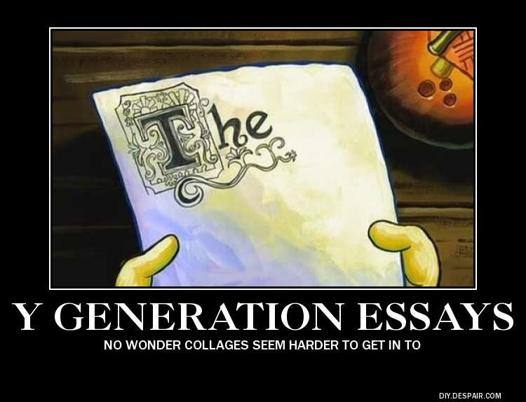 Y Generation Essays by FireNationPhoenix