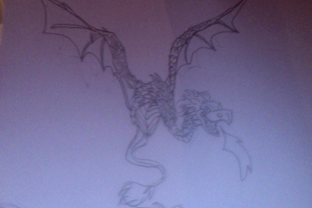 Amphithere Dragon by FireNationPhoenix