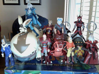 Avatar Action Figures Thus Far by FireNationPhoenix