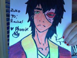 Zuko Marker Art by FireNationPhoenix