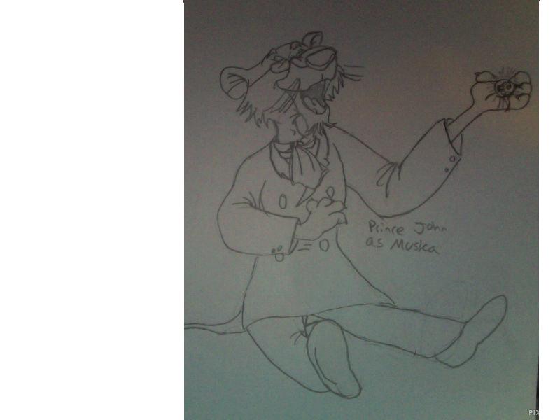 Prince John As Colonel Muska by FireNationPhoenix