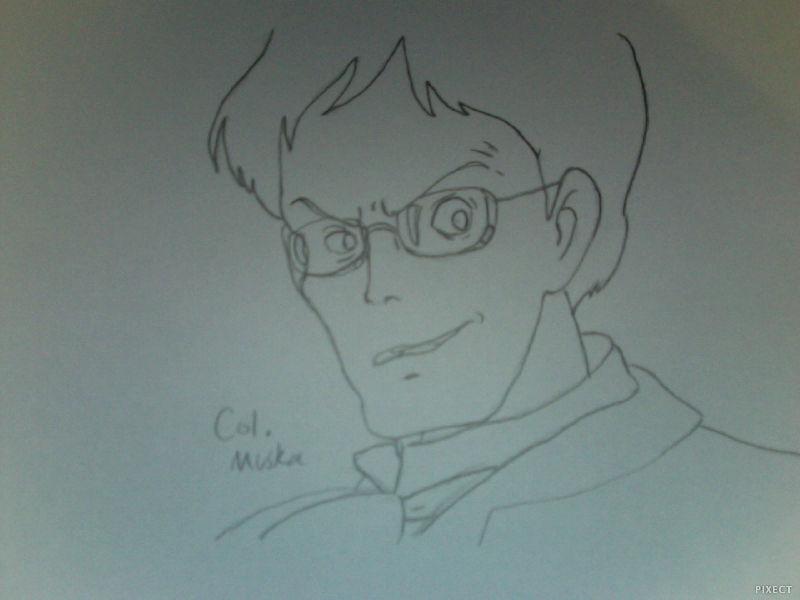 Colonel Muska Outline by FireNationPhoenix