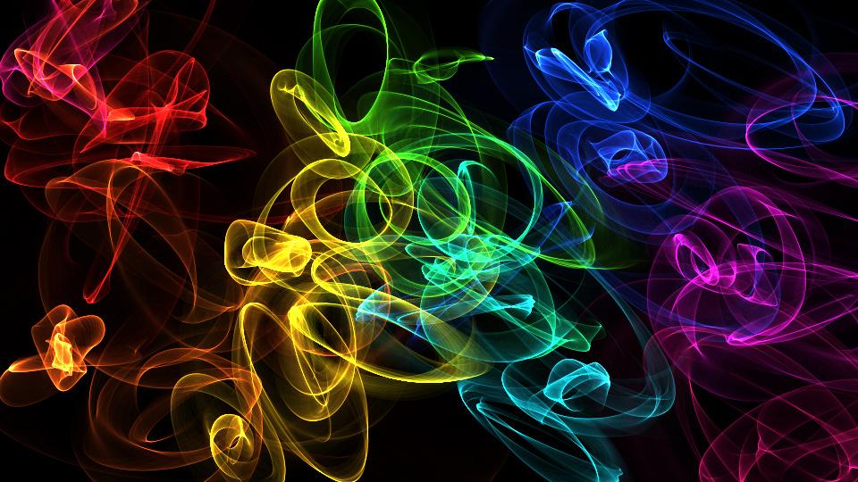 Rainbow Flames by FireNationPhoenix