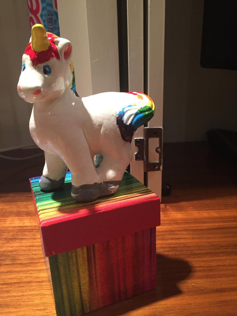Rainbow Unicorn For Sale by FireNationPhoenix