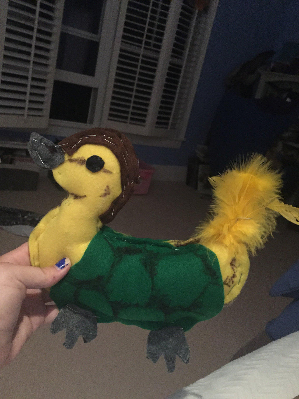 Plushie Turtle Duck 2 by FireNationPhoenix