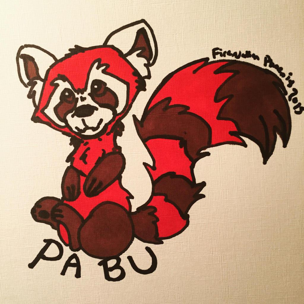 Chibi Pabu by FireNationPhoenix