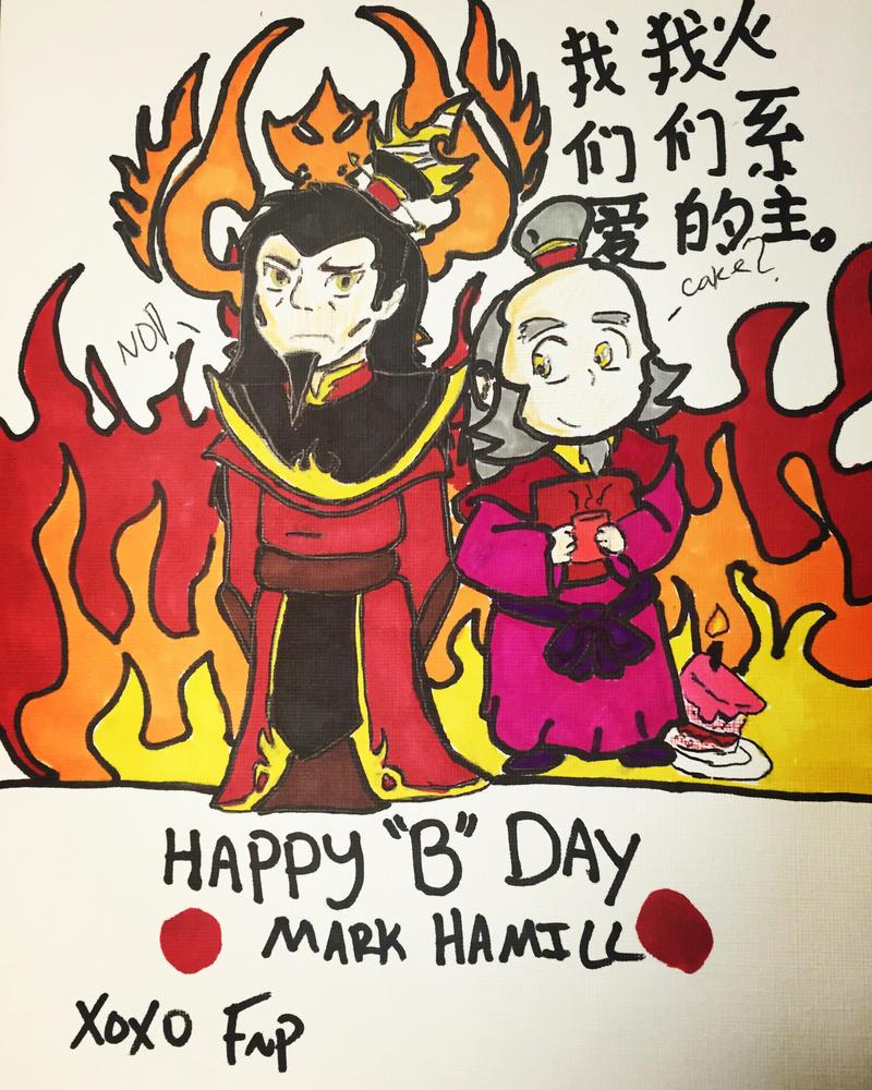 Happy Birthday Ozai by FireNationPhoenix