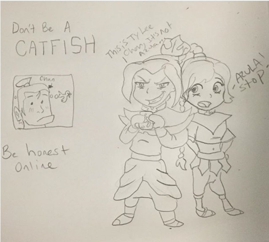 Catfish Azula by FireNationPhoenix