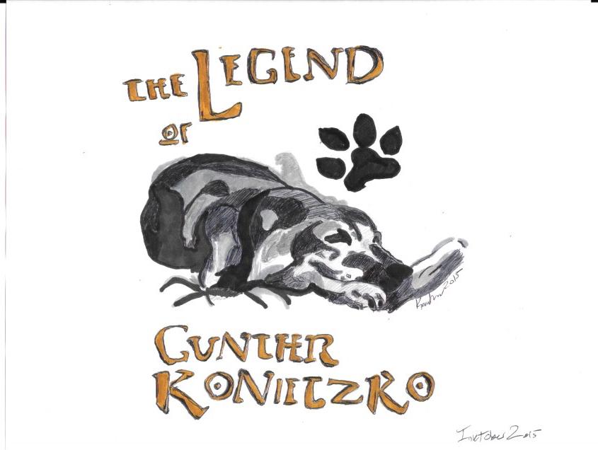 Inktober: The Legend of Gunther Konietzko by FireNationPhoenix