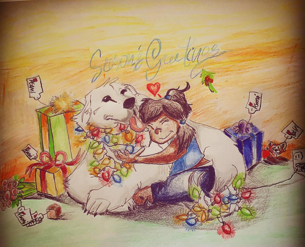 All I Want For Christmas Is You by FireNationPhoenix
