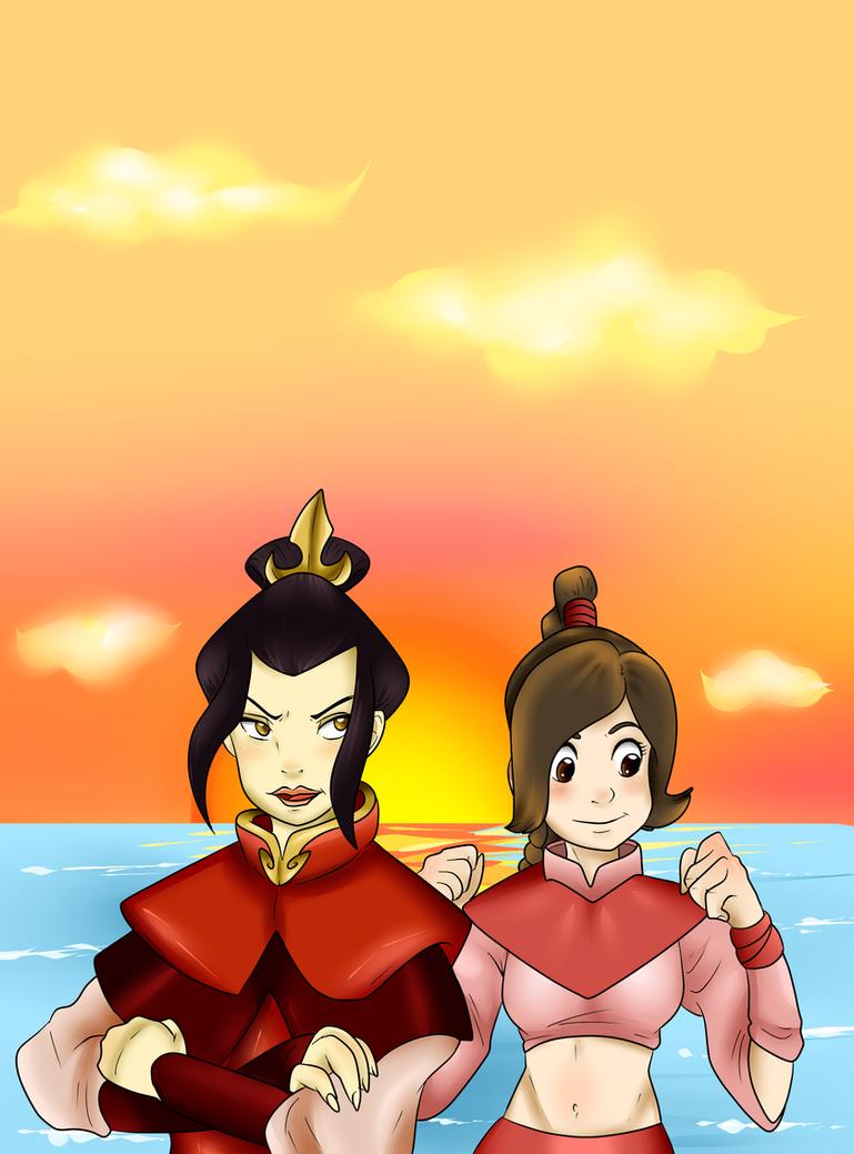 Ember Island Girls by FireNationPhoenix