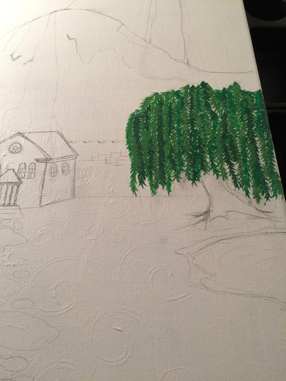Castle Landscape Project WIP 2 by j0wey
