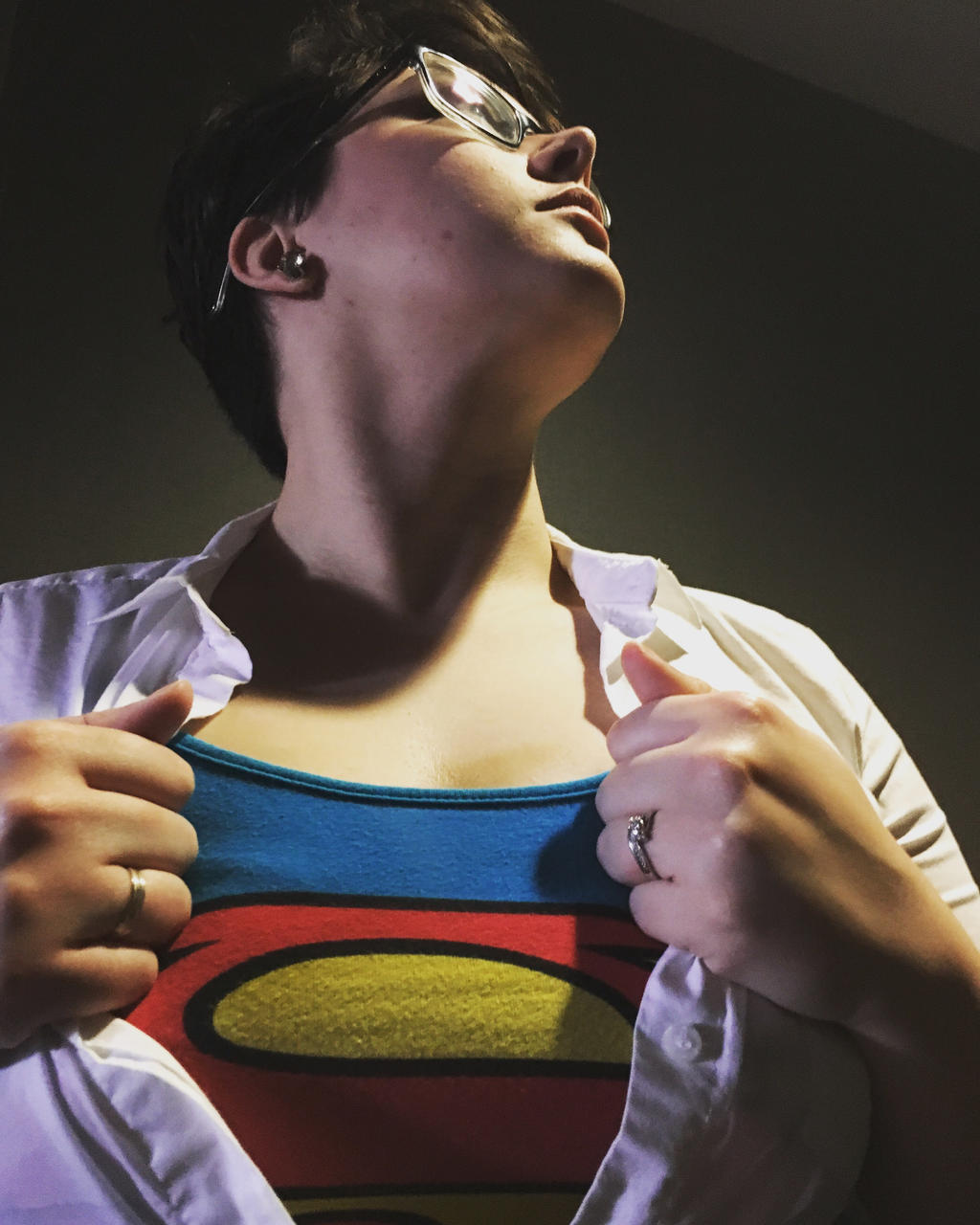Superman gender bend by j0wey