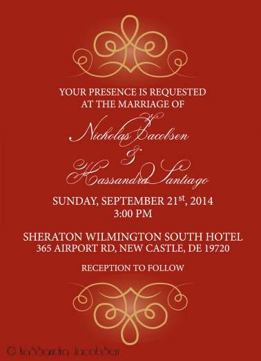 Wedding Invitation by j0wey
