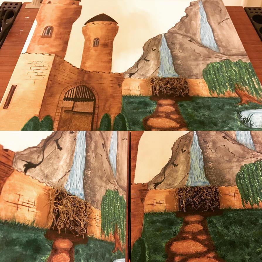 Castle WIP 1/1/17 by j0wey