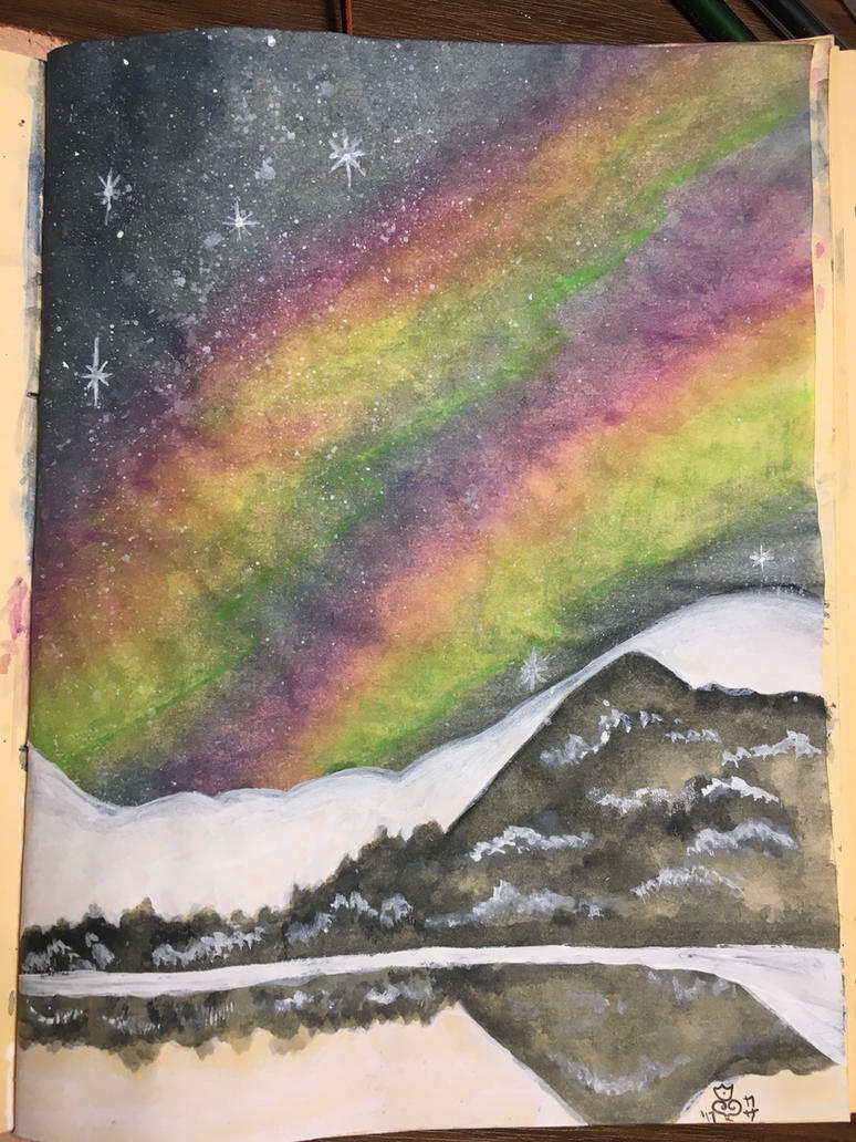 Aurora Borealis  by j0wey