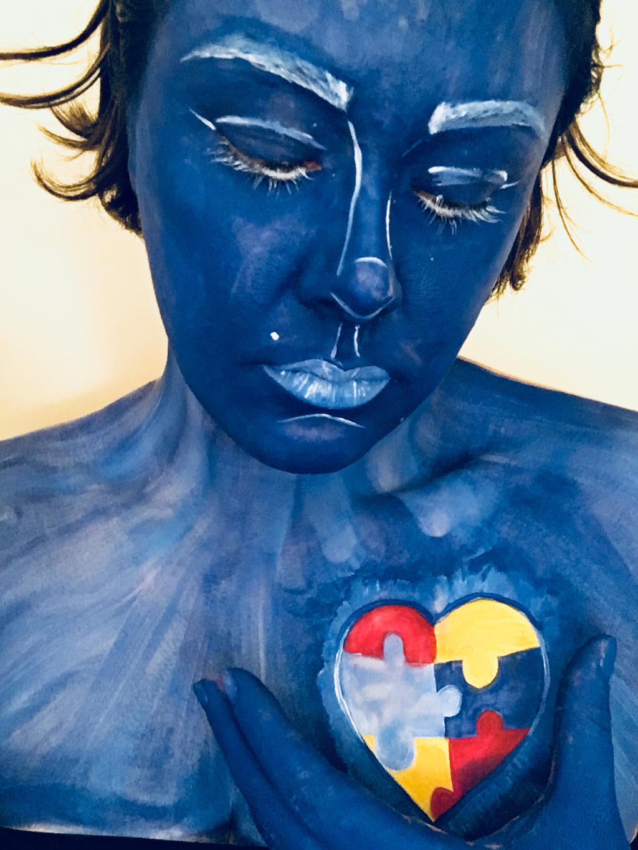Light it up blue  by j0wey