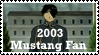2003 Mustang Fan by GreedLin