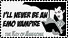 I'll Never Be An Emo Vampire by GreedLin