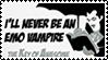 I'll Never Be An Emo Vampire by GreedLin
