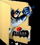 Batman Animated Series Folder