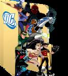 DC Animated Universe Folder Icon