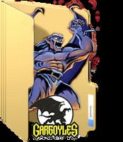 Gargoyles Folder Icon by GreedLin