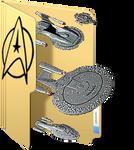 Star Trek Folder Icon by GreedLin
