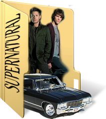 Supernatural Folder Icon