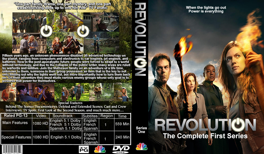 the dvd revolution The definitive version of hugh hudson's powerfully unsentimental film set during the american war of independence.