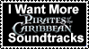 I Love Pirates of the Carribean Soundtracks by GreedLin