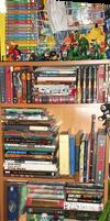 My Nerdy Bookshelf 2013