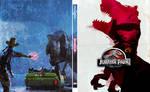 Jurassic Park - Steelbook Art