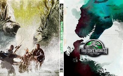 Lost World Jurassic Park - Steelbook Art