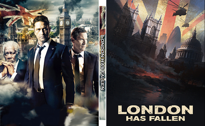London Has Fallen Custom Steelbook