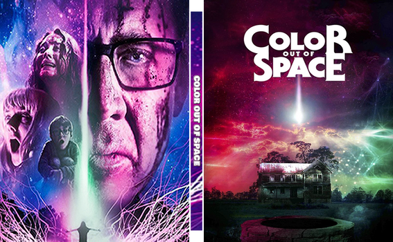 Color Out Of Space Custom Steelbook
