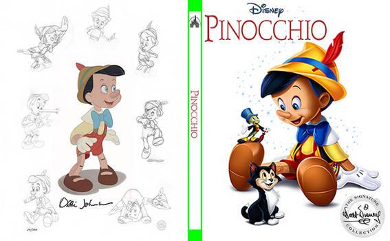 Pinocchio custom steelbook