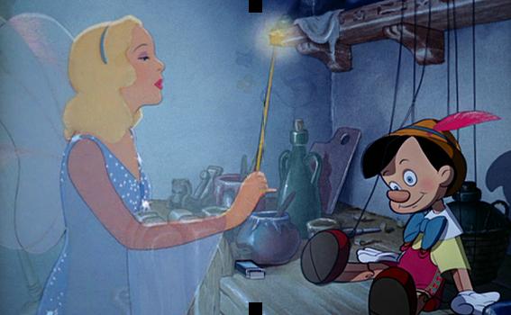 Pinocchio custom steelbook inside
