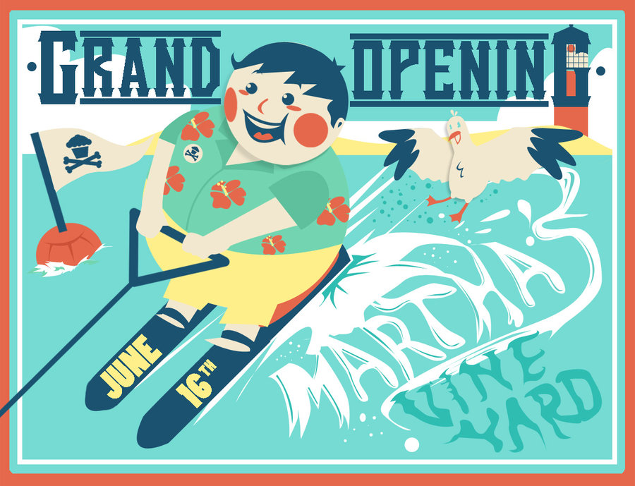Johnny Cupcakes Martha's Vineyard Grand Opening By