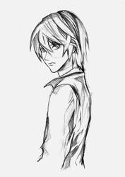 Kami (Sketch) by Sono-chanX
