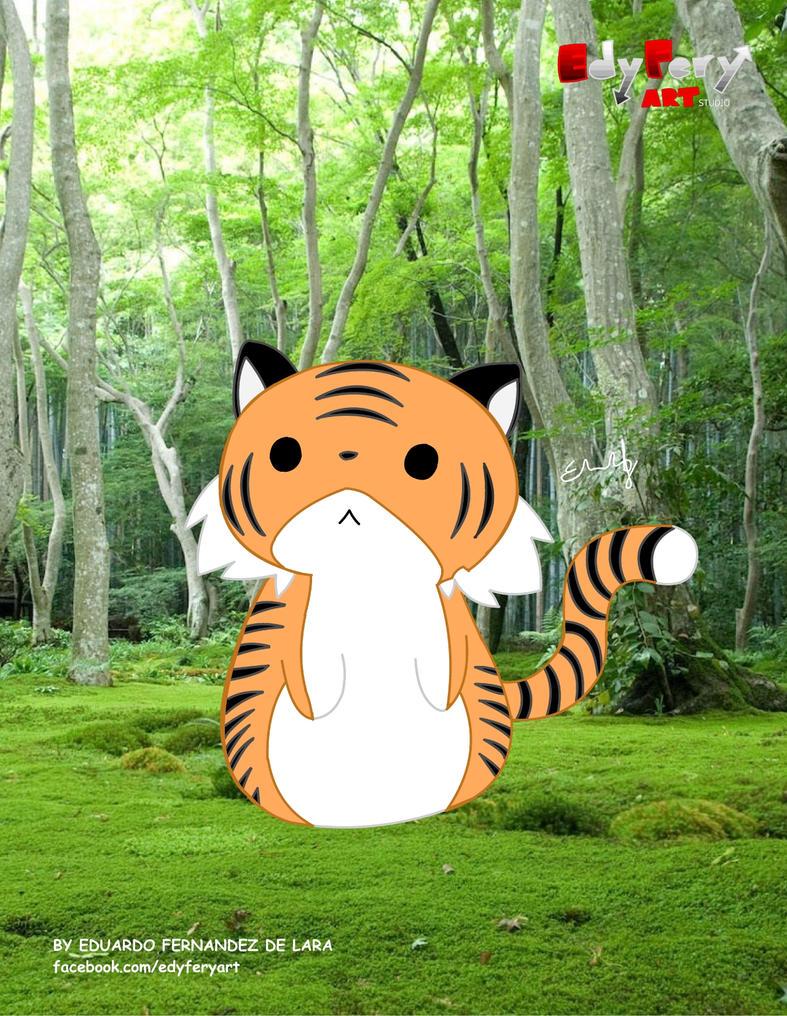 Kawanimals - Tiger by EduardoFn343