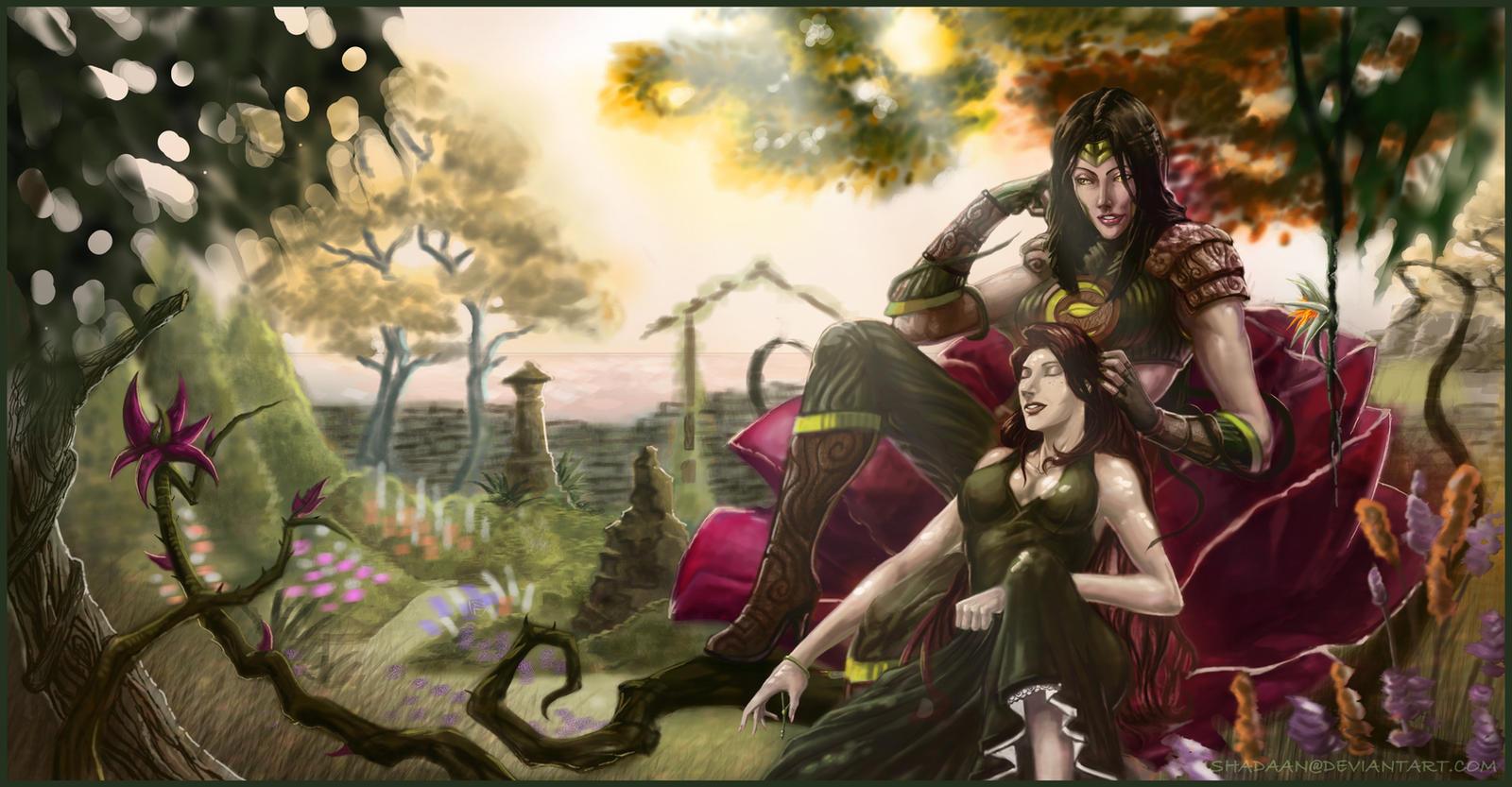 Empress: Living Garden by Shadaan