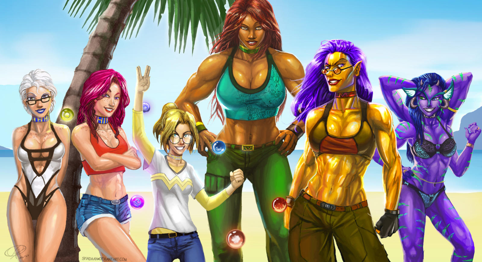 Grrl Power by Shadaan