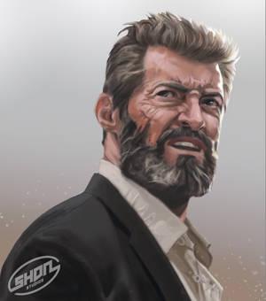 Face Study - Hugh Jackman as Logan