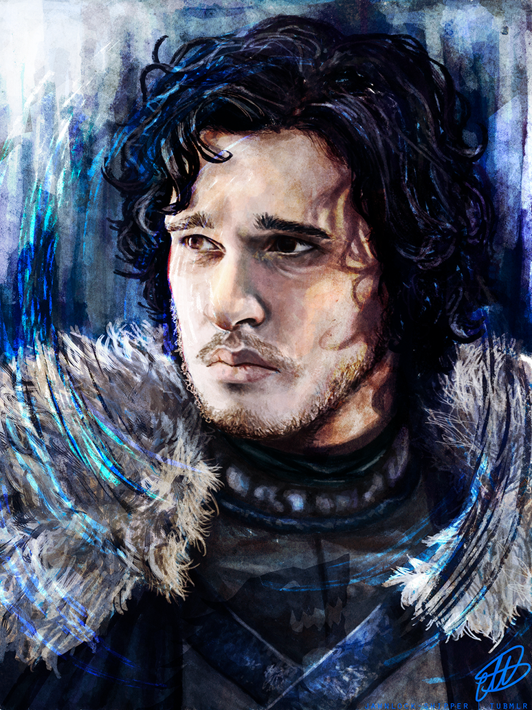 Jon Snow by Mariana-S
