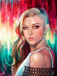 Natalie Dormer by Mariana-S