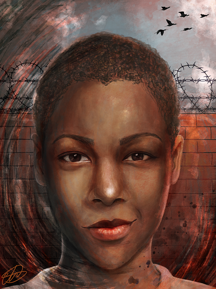 Poussey by Mariana-S
