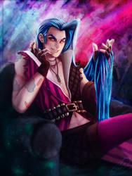 Gender bender: Jinx by Mariana-S