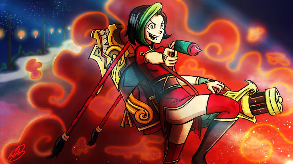 Firecracker Jinx by Mariana-S